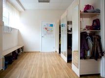 школа coatroom Стоковая Фотография RF