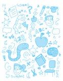 школа doodle Стоковые Изображения