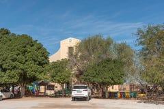 Школа Pikkiebult пре-основная в старой церков в Kakamas Стоковое Изображение RF
