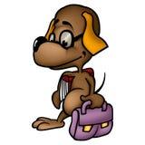 Школьник собаки Стоковые Фотографии RF