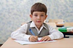 школьник урока милый Стоковые Фото