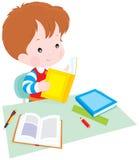 школьник урока Стоковые Изображения RF