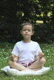 школьник joga Стоковое Фото