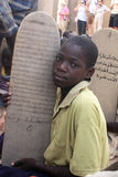 школьник koran Стоковая Фотография