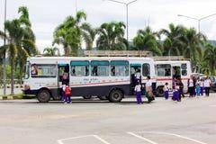Школьный автобус Стоковое Фото