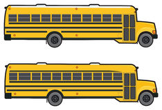 Школьный автобус Стоковые Фотографии RF