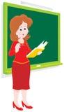 школьный учитель иллюстрация штока