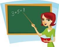 Школьный учитель Стоковые Фото