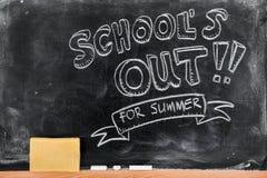 Школа вне Стоковое Изображение RF