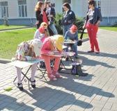 Школа выставки чертежа стоковые фотографии rf