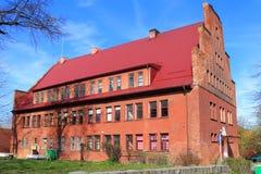 Школа детей искусств в городе Mamonovo Стоковая Фотография