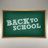 школа иллюстрации руки элемента chalkboard нарисованная конструкцией Стоковые Фото