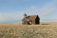 школа дома старая Стоковые Фото