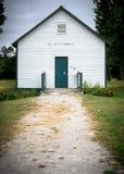 школа дома старая Стоковая Фотография