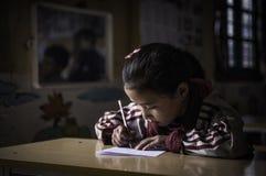 Школа ребенка стоковое изображение