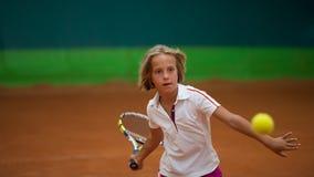Школа тенниса Стоковая Фотография RF