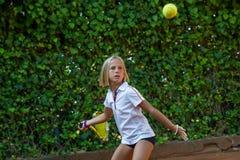 Школа тенниса Стоковые Изображения