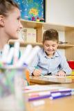 школа урока класса детей реальная Стоковое фото RF