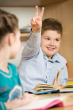 школа урока класса детей реальная Стоковое Изображение