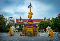 Школа Jittapawan буддийская - Таиланд Стоковые Фото
