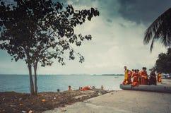 Школа Jittapawan буддийская - Таиланд Стоковое Фото