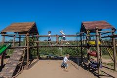 Школа Pr спортивной площадки детей 3 Стоковое Изображение RF