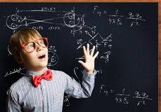 школьник франтовской стоковое изображение