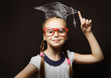 школьница франтовская Стоковое фото RF