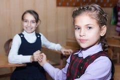 Школьницы примирения Стоковые Изображения