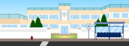 Школьное здание Стоковое Изображение RF
