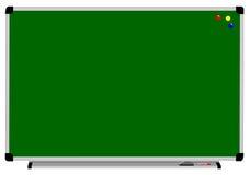 Школьное правление и 3 магнит, отметки и ластик Стоковое Изображение