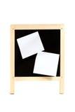 Школьное правление с придерживаемыми битами бумаги Стоковое Фото
