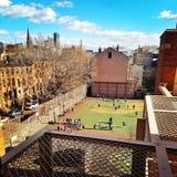 Школьный двор Бруклина стоковое изображение rf
