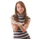 шланг рук моделирует 2 детенышей женщины Стоковое Фото