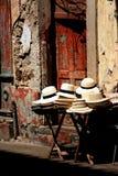 шлемы Панама Стоковые Фотографии RF