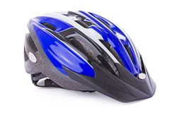 шлем велосипеда стоковое изображение