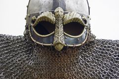 Шлем Викинга Стоковые Изображения RF