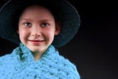 шлем девушки милый стоковое изображение