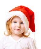 шлем девушки рождества немногая Стоковое Изображение RF
