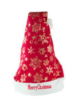 Шлем Дед Мороз Стоковые Изображения