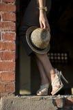 шлем кренит высокий ботинок Стоковое Изображение
