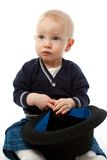 шлем мальчика Стоковое Фото