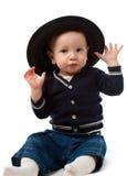 шлем мальчика Стоковое фото RF