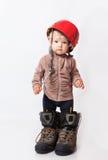 шлем ребенка Стоковые Изображения RF