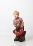 шлем ребенка Стоковое фото RF