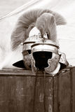 шлем римский стоковая фотография
