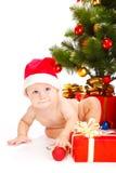 шлем рождества младенца Стоковое Изображение RF
