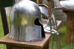 шлем сражения Стоковое фото RF