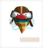 шлем стекел стороны Иллюстрация штока