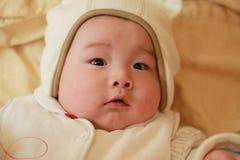 шлем шаржа младенца симпатичный стоковое фото rf